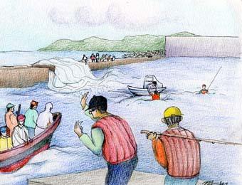 釣り日記 人命救助の話